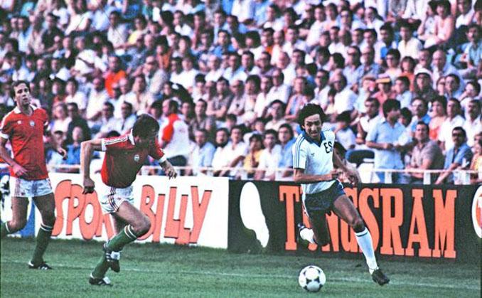 """""""Mágico"""" González en el Hungría vs El Salvador del Mundial 1982 - Odio Eterno Al Fútbol Moderno"""
