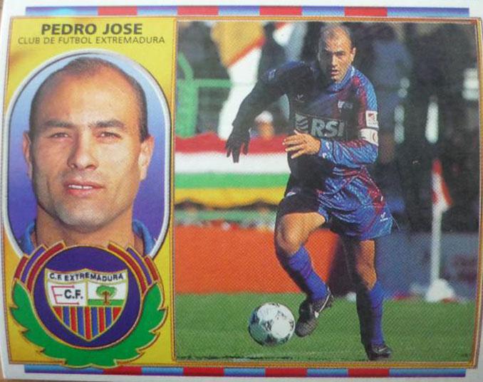 Cromo de Pedro José - Odio Eterno Al Fútbol Moderno