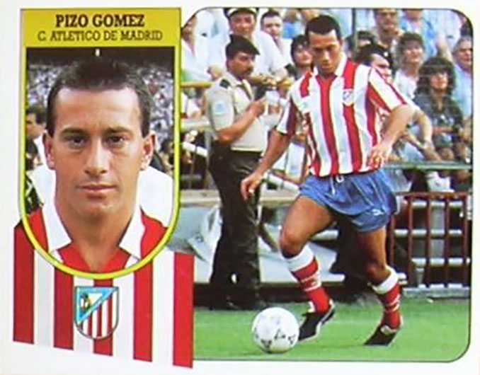 Cromo de Pizo Gómez - Odio Eterno Al Fútbol Moderno