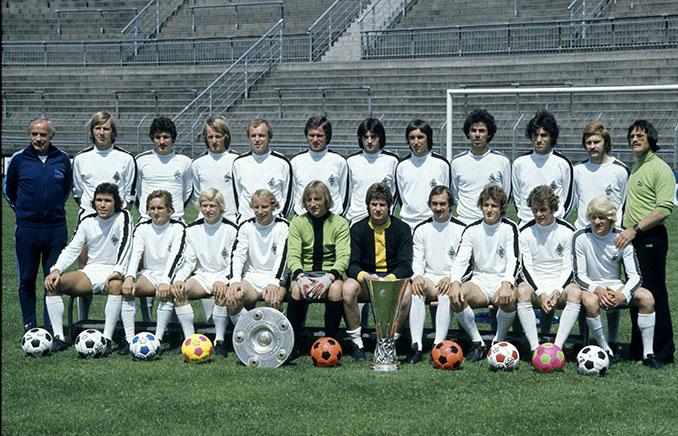 """""""Los Potros"""" de Mönchengladbach lograron el doblete en 1975 - Odio Eterno Al Fútbol Moderno"""