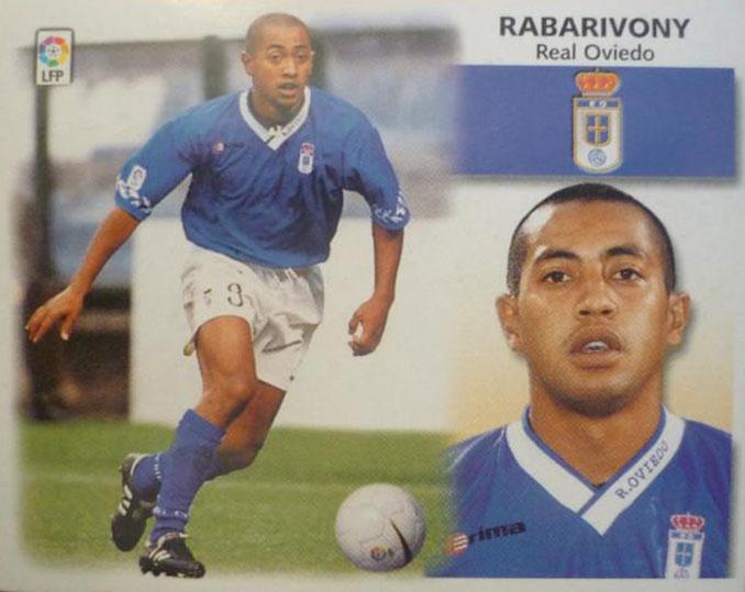 Cromo de Franck Rabarivony - Odio Eterno Al Fútbol Moderno