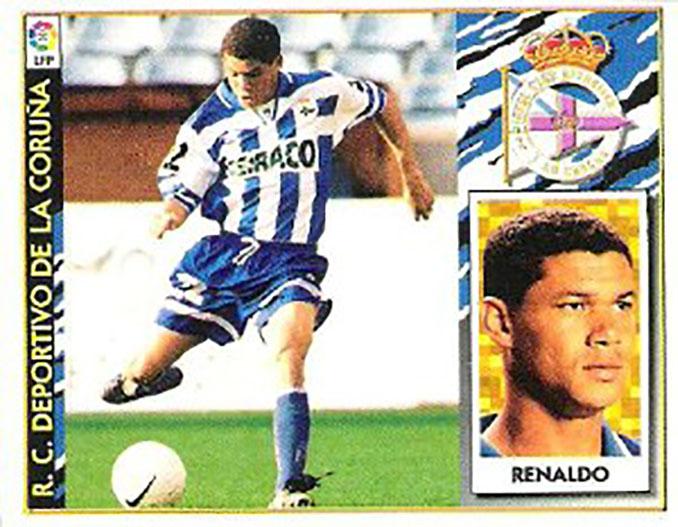 Cromo de Renaldo - Odio Eterno Al Fútbol Moderno