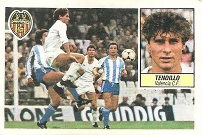 Cromo de Miguel Tendillo - Odio Eterno Al Fútbol Moderno