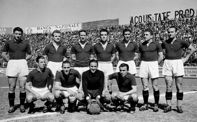 Formación clásica de Il Grande Torino - Odio Eterno Al Fútbol Moderno