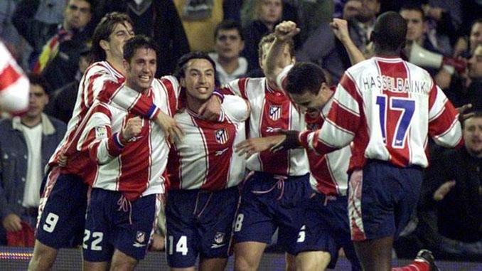 Celebración tras un gol en la temporada 1999-2000 - Odio Eterno Al Fútbol Moderno
