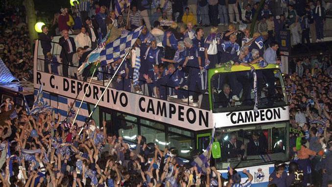 Celebración del Deportivo de la Coruña de la Liga 99-00 - Odio Eterno Al Fútbol Moderno