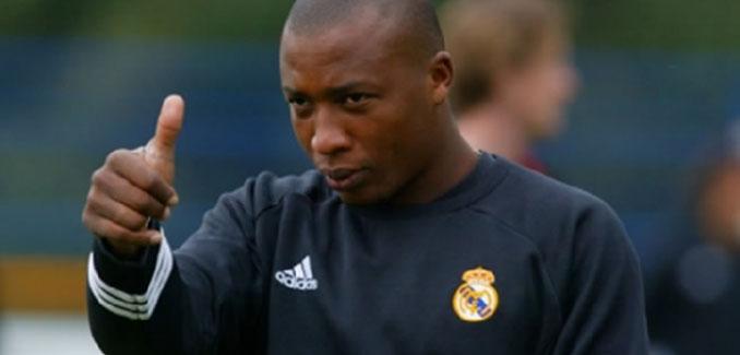 Edwin Congo en un entrenamiento con el Real Madrid - Odio Eterno Al Fútbol Moderno