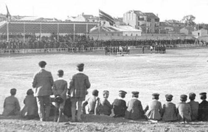 Final vasca de la Copa de 1927 disputada en el Estadio de Torrero - Odio Eterno Al Fútbol Moderno