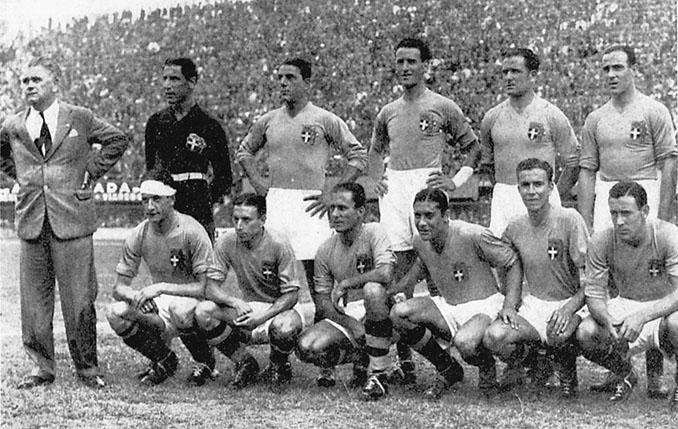 Selección italiana en el Mundial 1934 - Odio Eterno Al Fútbol Moderno