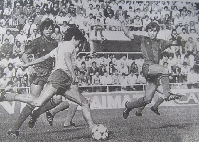 El gol de Mágico González al FC Barcelona fue una obra de arte - Odio Eterno Al Fútbol Moderno