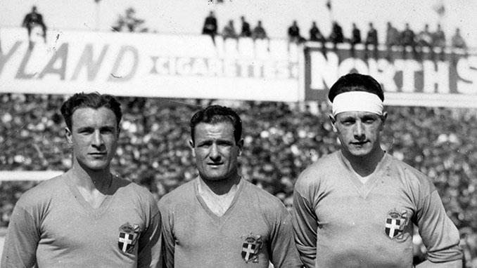 """Attilio Demaría, Luis Monti y Raimundo Orsi, los """"oriundi"""" de la """"azzurra"""" en el Mundial 1934 - Odio Eterno Al Fútbol Moderno"""