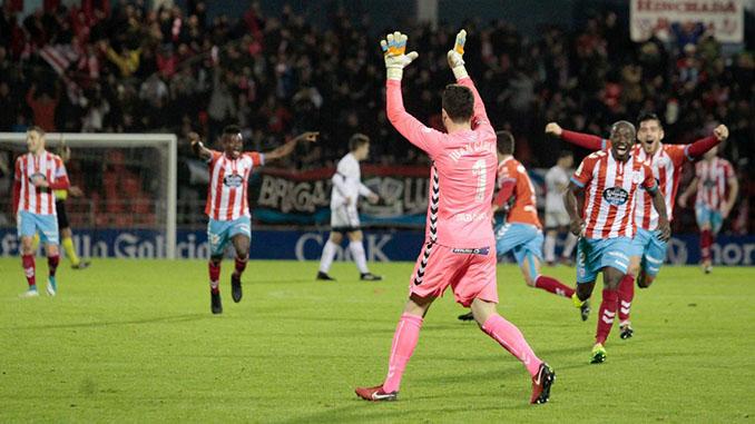 El gol del portero del Lugo al Sporting hizo enloquecer al Anxo Carro - Odio Eterno Al Fútbol Moderno