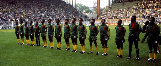 Selección de Zaire en 1974 - Odio Eterno Al Fútbol Moderno