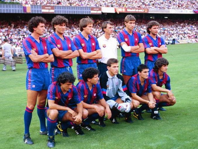 Muchas caras nuevas en la plantilla del FC Barcelona para la temporada 1988-1989 - Odio Eterno Al Fútbol Moderno