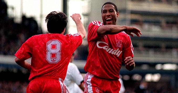 John Barnes fue el máximo goleador en la última Liga del Liverpool - Odio Eterno Al Fútbol Moderno