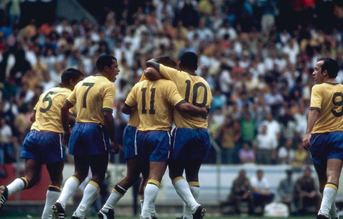 Brasil deslumbró al mundo en 1970 - Odio Eterno Al Fútbol Moderno