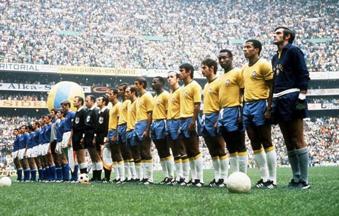 Brasil e Italia disputaron la final del Mundial 1970 - Odio Eterno Al Fútbol Moderno