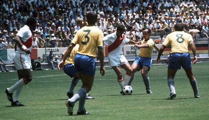Brasil vs Perú de la Copa del Mundo de 1970 - Odio Eterno Al Fútbol Moderno