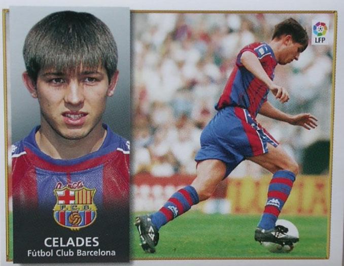Cromo de Albert Celades - Odio Eterno Al Fútbol Moderno