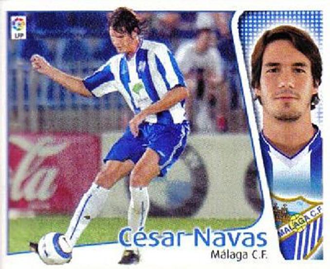 Cromo de César Navas - Odio Eterno Al Fútbol Moderno