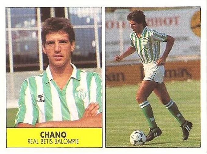 Cromo de Chano - Odio Eterno Al Fútbol Moderno