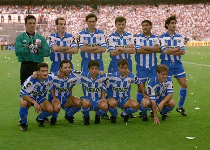 Deportivo de la Coruña en la final de la Copa del Rey de 1995 - Odio Eterno Al Fútbol Moderno