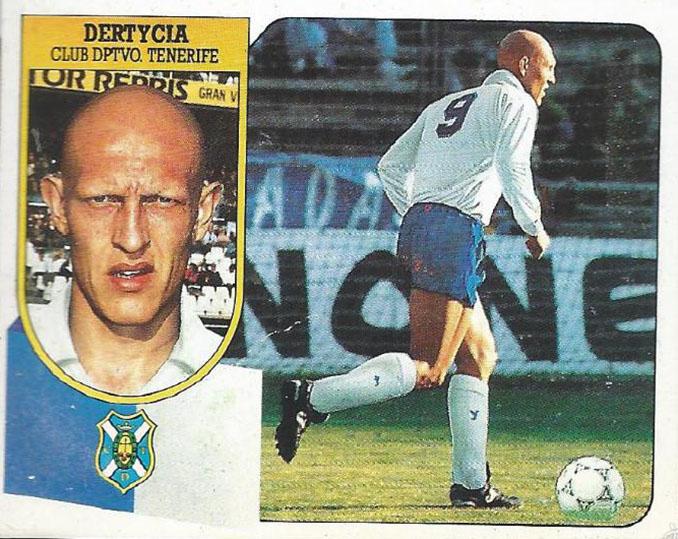 Cromo de Dertycia - Odio Eterno Al Fútbol Moderno
