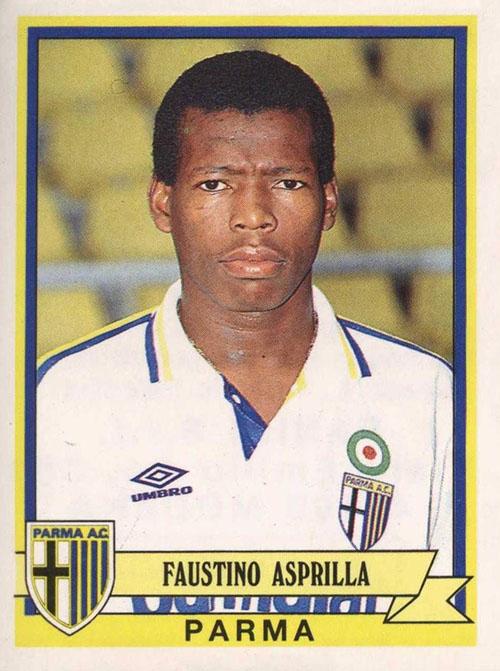 Cromo de Faustino Asprilla - Odio Eterno Al Fútbol Moderno