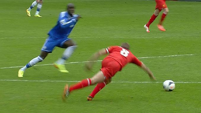 El resbalón de Gerrard es uno de los momentos más tristes en la historia del Liverpool - Odio Eterno Al Fútbol Moderno
