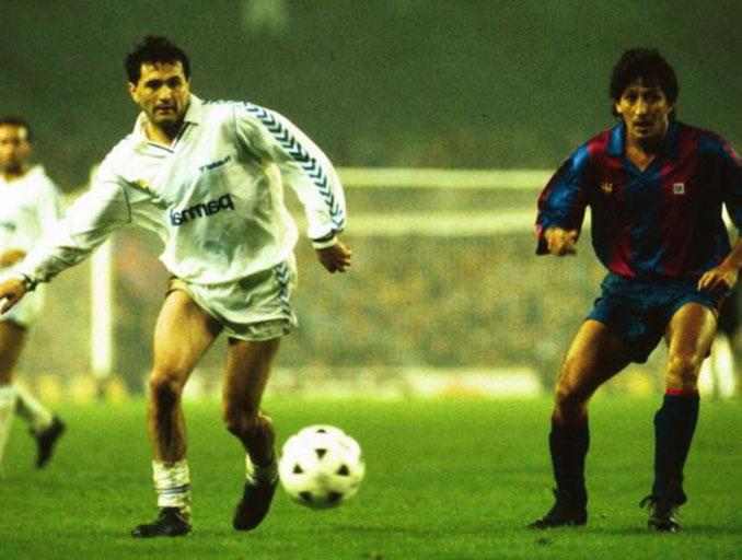 Gordillo y Romerito en El Clásico del 1 de abril de 1989 - Odio Eterno Al Fútbol Moderno