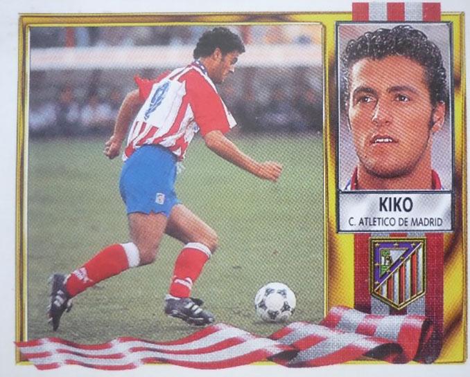 Cromo de Kiko Narváez - Odio Eterno Al Fútbol Moderno