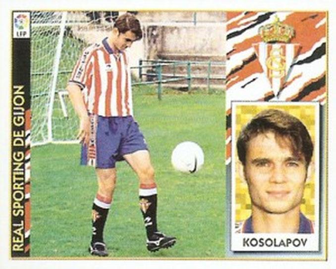Cromo de Kosolapov - Odio Eterno Al Fútbol Moderno