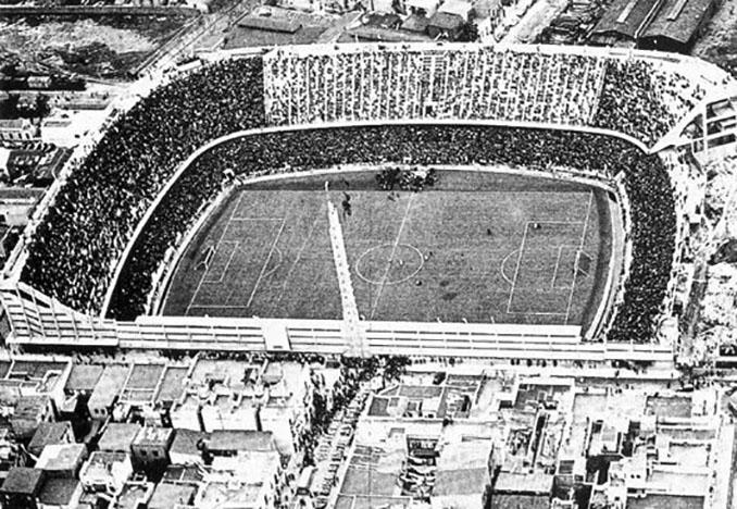 Uno de los primeros partidos en La Bombonera - Odio Eterno Al Fútbol Moderno
