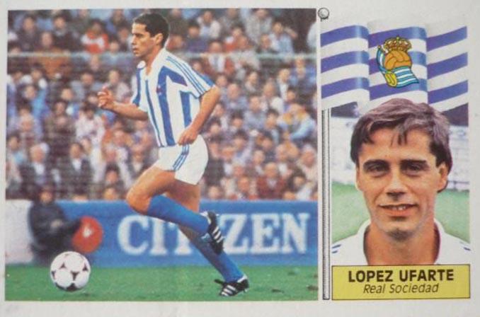 Cromo de Roberto López Ufarte - Odio Eterno Al Fútbol Moderno