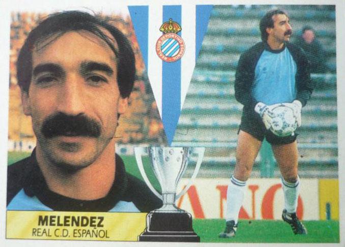 Cromo de Carlos Meléndez - Odio Eterno Al Fútbol Moderno