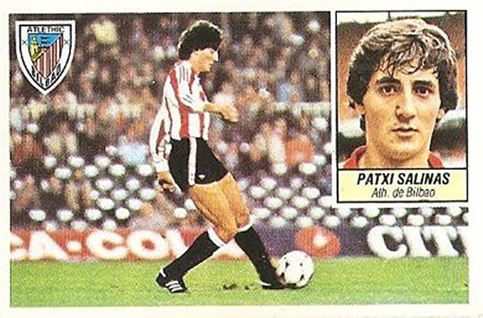 Cromo de Patxi Salinas - Odio Eterno Al Fútbol Moderno