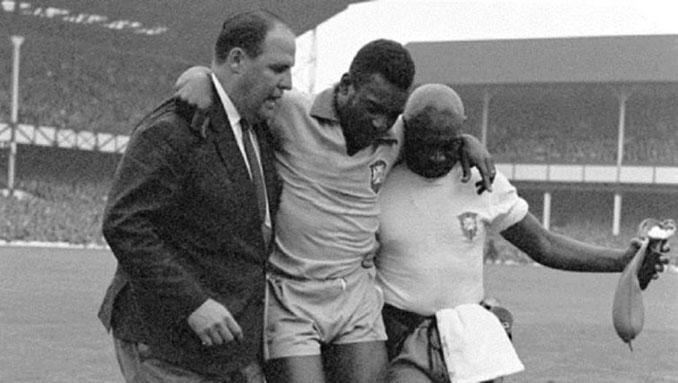 Pelé terminó lesionado en el Mundial de 1966 - Odio Eterno Al Fútbol Moderno