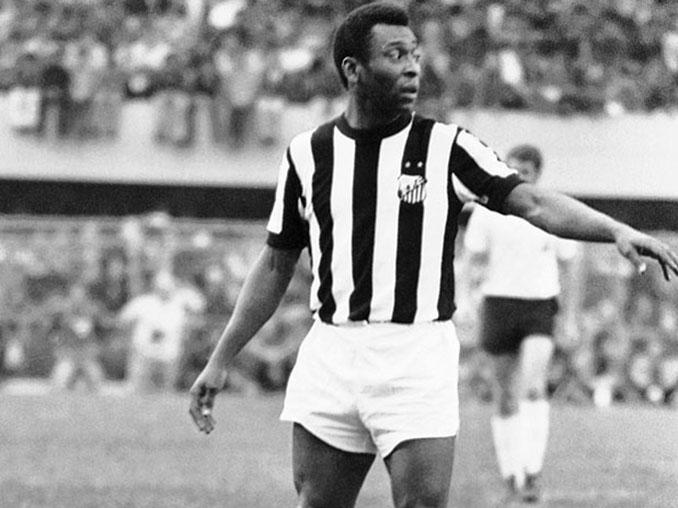 Pelé con Santos FC - Odio Eterno Al Fútbol Moderno