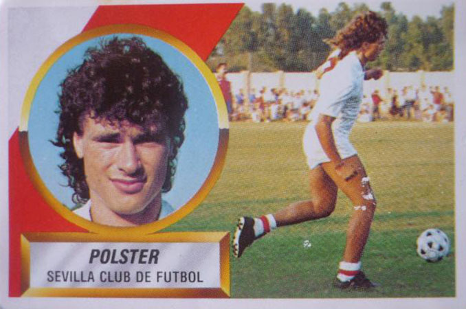Cromo de Anton Polster - Odio Eterno Al Fútbol Moderno