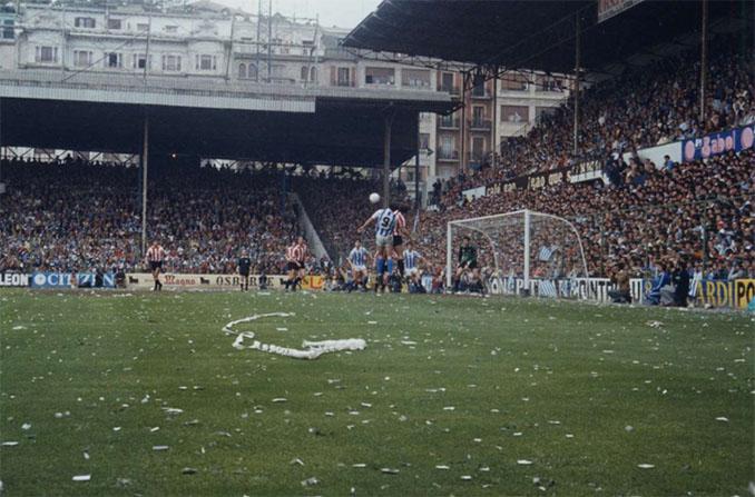 La Liga 81-82 se decidió con un derbi vasco en Atotxa- Odio Eterno Al Fútbol Moderno