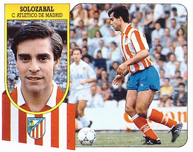 Cromo de Roberto Solozábal - Odio Eterno Al Fútbol Moderno
