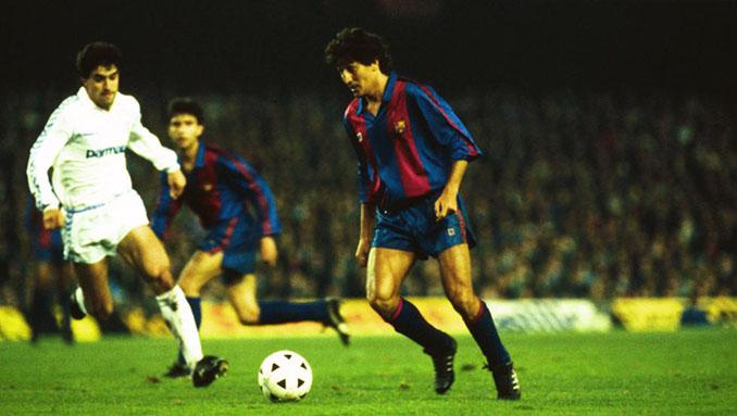 Romerito debutó el 1 de abril de 1989 contra el Real Madrid - Odio Eterno Al Fútbol Moderno