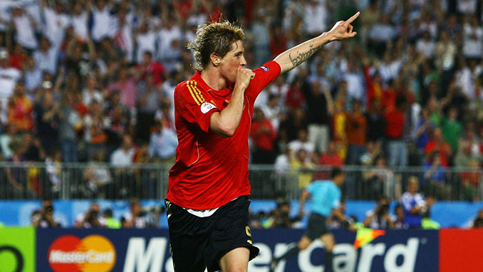 El gol de Torres en la Eurocopa 2008 dio el primer título a España en 44 años - Odio Eterno Al Fútbol Moderno