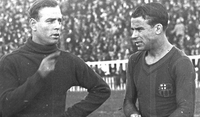 Zamora y Samitier coincidieron en el FC Barcelona - Odio Eterno Al Fútbol Moderno
