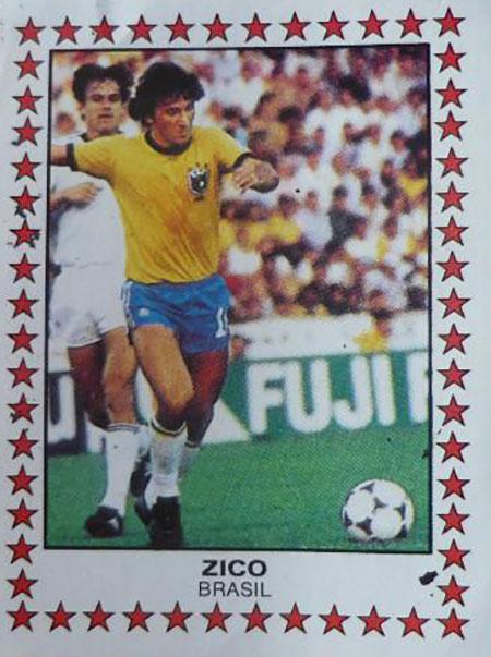 Cromo de Zico - Odio Eterno Al Fútbol Moderno