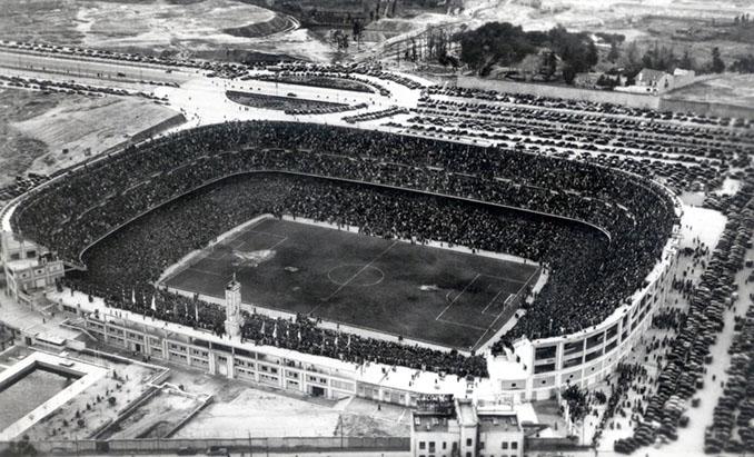 Nuevo Chamartín en 1947. Rebautizado como Santiago Bernabéu en 1955 - Odio Eterno Al Fútbol Moderno