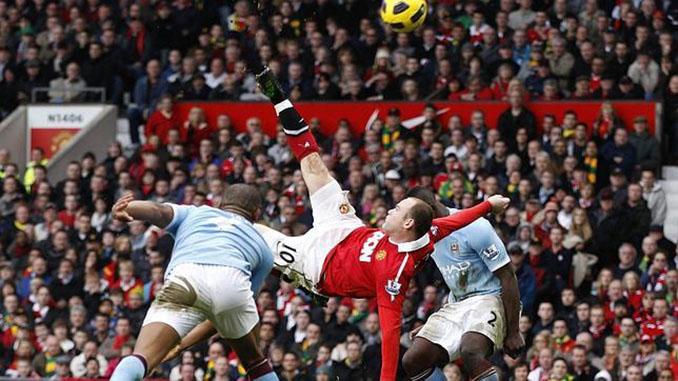 La chilena de Rooney elegida el mejor gol en la historia de la Premier League - Odio Eterno Al Fútbol Moderno