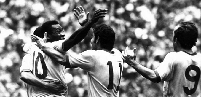 """Brasil de 1970, el Brasil de los """"cinco dieces"""" - Odio Eterno Al Fútbol Moderno"""