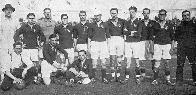 Selección española en los Juegos Olímpicos de Amberes 1920 - Odio Eterno Al Fútbol Moderno