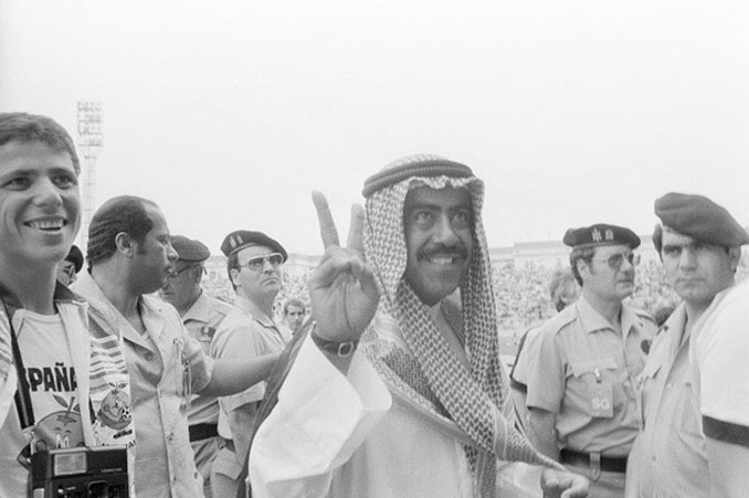 El jeque que anuló un gol en el Francia vs Kuwait del Mundial 1982 - Odio Eterno Al Fútbol Moderno